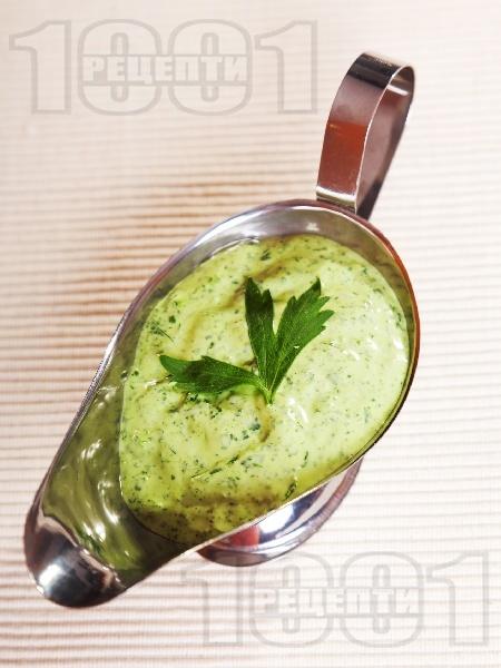 Майонезен сос със целина - снимка на рецептата